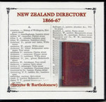 New Zealand Directory 1866-67 (Stevens and Bartholomew)