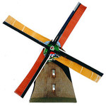 Paper House Productions Mini Cut-Outs Windmill