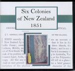 The Six Colonies of New Zealand 1851
