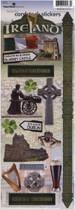 Paper House Productions Ireland 'Kiss Me I'm Irish' Sticker