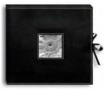 Pioneer 12x12 Sewn Frame-Box Scrapbook Album (Black)
