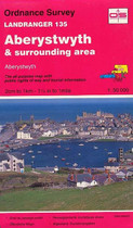 Landranger Map No. 135 Aberystwyth and surrounding area