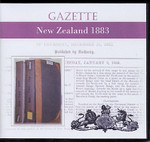 New Zealand Gazette 1883