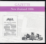 New Zealand Gazette 1886