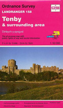Landranger Map No. 158 Tenby and surrounding area