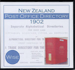New Zealand Post Office Directory 1902 (Wise)