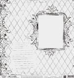Prima Marketing 12x12 Paintable 280 (Frame)