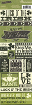 Reminisce St Patricks Day Stickers