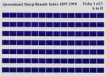 Queensland Sheep Brands Index 1895-1900