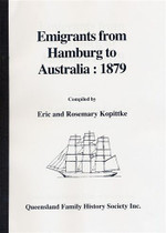 Emigrants From Hamburg to Australia 1879