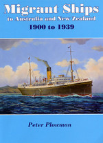 Migrant Ships to Australia and New Zealand 1900 to 1939