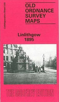 Town Map Linlithgowshire: Linlithgow 1895