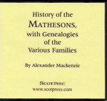 History of the Mathesons, with Genealogies of the Various Families