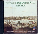 Arrivals and Departures New South Wales 1788-1825 (Private Use)