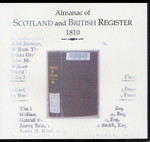 Almanac of Scotland and British Register 1810
