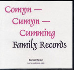Comyn - Cumyn - Cumming Family Records