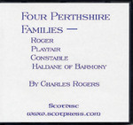Four Perthshire Families: Roger, Playfair, Constable, and Haldare of Barmony