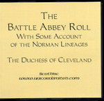The Battle Abbey Roll With Some Account of the Norman Lineages