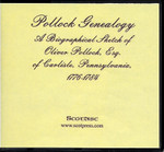 Pollock Genealogy: A Biographical Sketch of Oliver Esq., of Carlisle, Pennsylvania 1776-1784