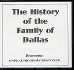 The History of the Familly of Dallas