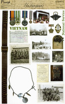 Stamp-It Short Cuts: Vietnam/National Service