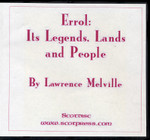 Errol: Its Legends, Lands and People