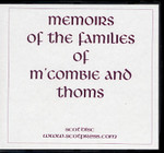 Memoirs of the Families of M'Combie and Thoms