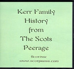 Kerr Family History from The Scots Peerage