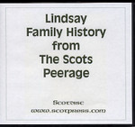 Lindsay Family History from Scots Peerage