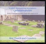 Scottish Monumental Inscriptions Clackmannanshire: Alva Church and Cemetery