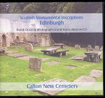 Scottish Monumental Inscriptions Edinburgh: Calton New Cemetery