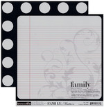 Teresa Collins 8x8 Double-Sided Family Defined