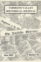 Torrens Valley Historical Journal No. 58 (June 2005)