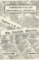 Torrens Valley Historical Journal No. 59 (January 2006)