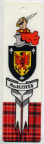 Scottish Families Bookmark: MacAlister