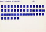 Berkshire 1823 Pigot's Directory