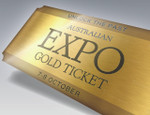 Unlock the Past Australian Expo 2016 Gold Ticket