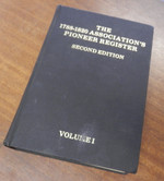 The Pioneer Register Volume 1