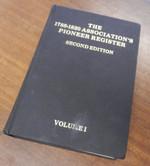 The Pioneer Register Volume 1