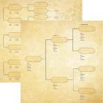 Reminisce 12x12 Family Tree Generations