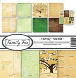 Reminisce 12x12 Family Tree Kit