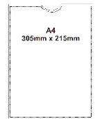 A4 Archival Pocket (single)
