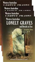 Western Australian Lonely Graves (4 volume set)