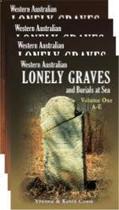 Western Australian Lonely Graves (4 volume set)