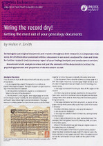 Handy Guide: Wring the Record Dry: Getting the Most Out of Your Genealogy Documents