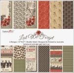 Feature Art 12x12 Lest We Forget Paper Pack