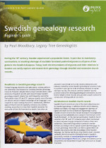 Handy Guide: Swedish Genealogy Research Beginner's Guide