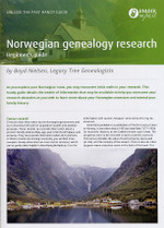 Handy Guide: Norwegian Genealogy Research Beginner's Guide