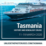Unlock the Past cruise 2020 Tasmanian conference $200