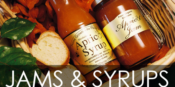 Apricot jams and apricot syrups from ApricotKing